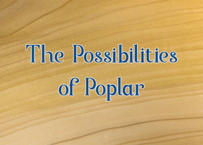 The Possibilities of Poplar