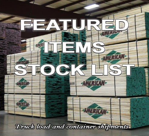featured items stock list american module